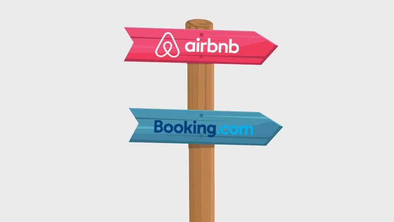 Airbnb takes out guest fees to compete with Booking com