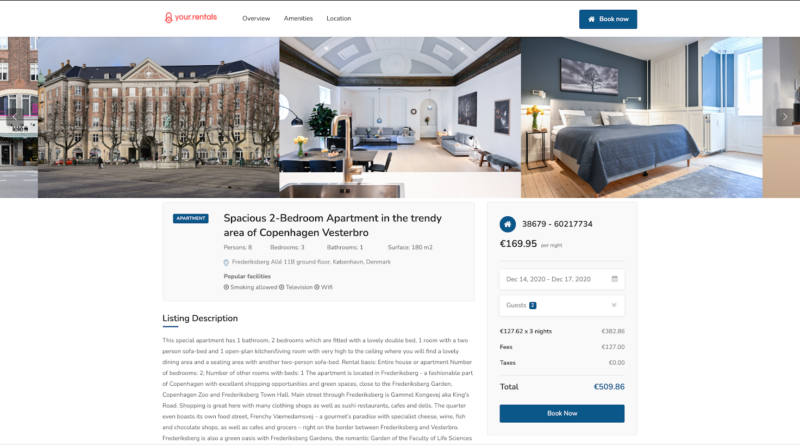 Google Vacation Rentals